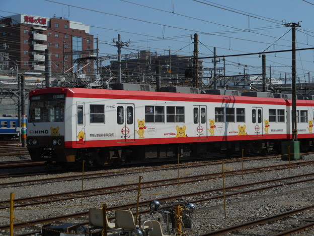 上信電鉄クモハ6002 2017-9-10