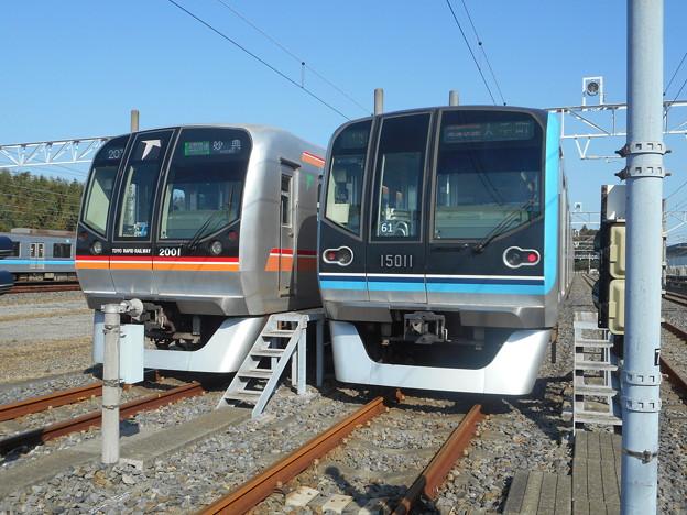 東葉高速鉄道2101F(C#2001)・東西線15111F(C#15011) 2017-11-5/2