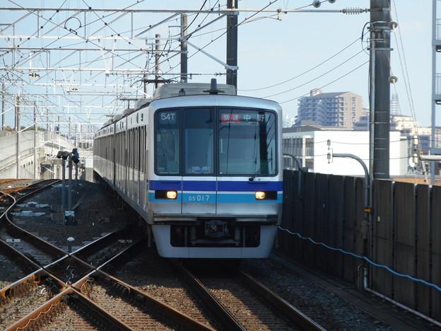 東西線05系05-117F(C#05-017) 2017-11-5