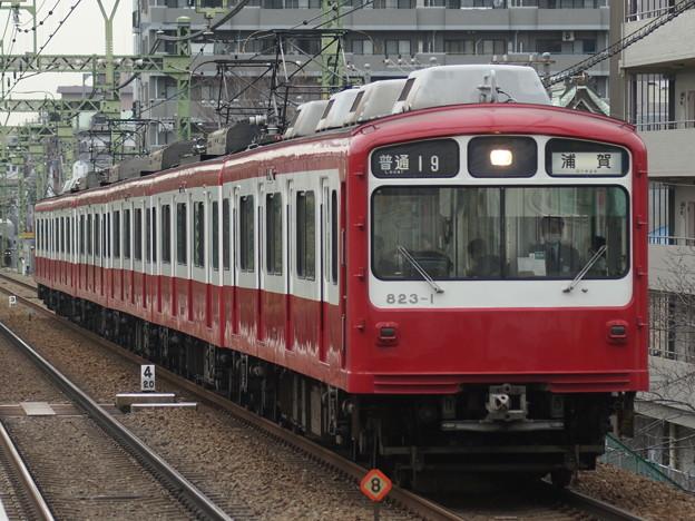 京浜急行電鉄823F 2018-1-5