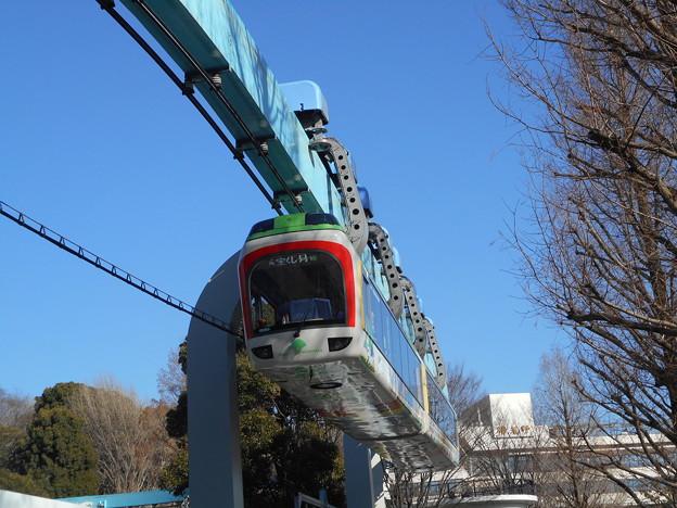 上野動物園モノレール40F(C#40-1) 2018-1-13