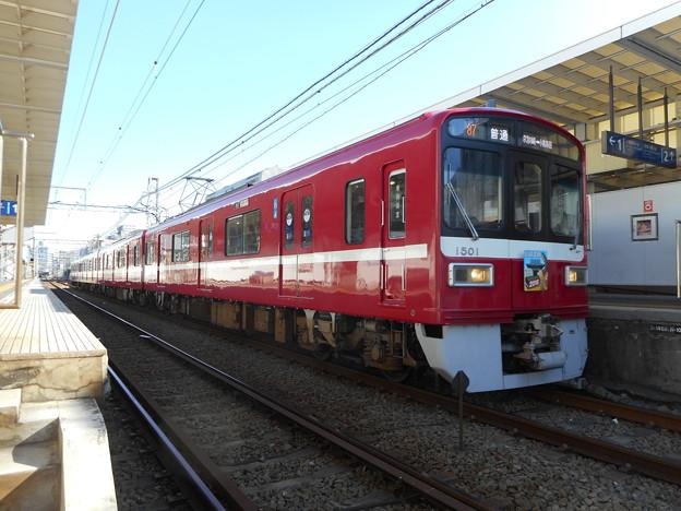 京浜急行電鉄1501F 2018-1-3/2