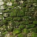 岡山城の石垣