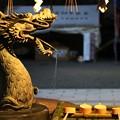 手水舎の龍(サイズ大きめ)