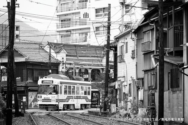Photos: モノクロが似合う町。