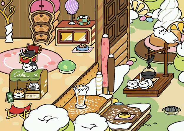 スイーツガーデン(外)テーブル3