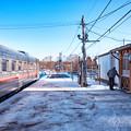 写真: 北海道 塘路駅