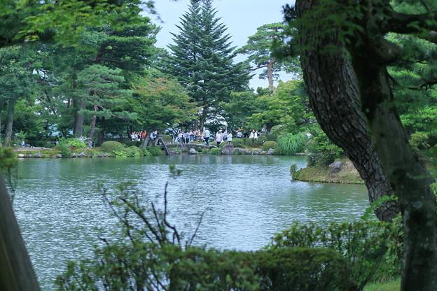 兼六園 霞ヶ池