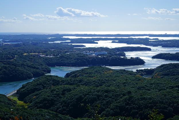 横山展望台から 英虞湾と賢島