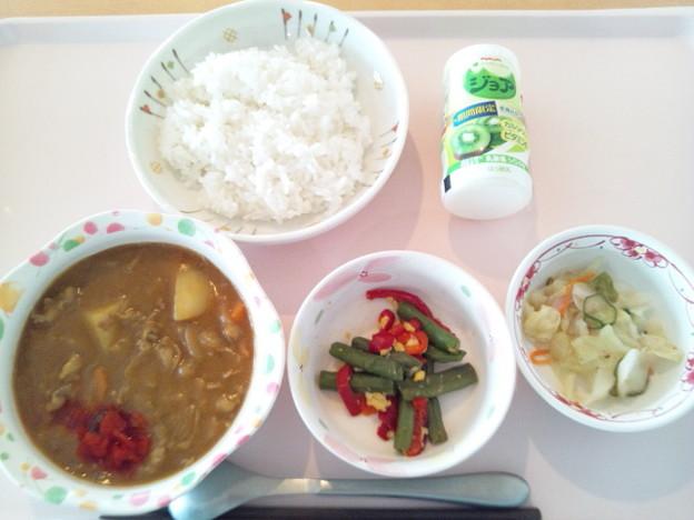 6月26日昼食(ビーフカレー) #病院食