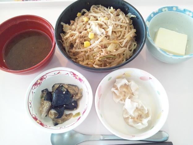 9月25日昼食(味噌ラーメン) #病院食