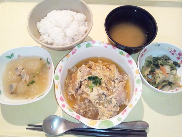 12月12日夕食(親子煮) #病院食
