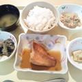 12月13日夕食(赤魚の煮付け) #病院食