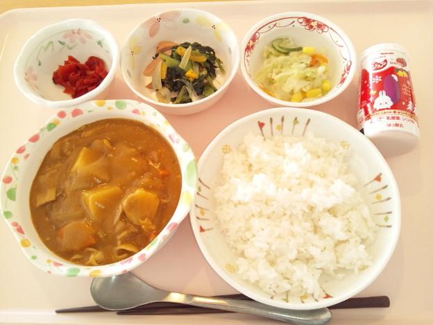 12月14日昼食(ポークカレー) #病院食