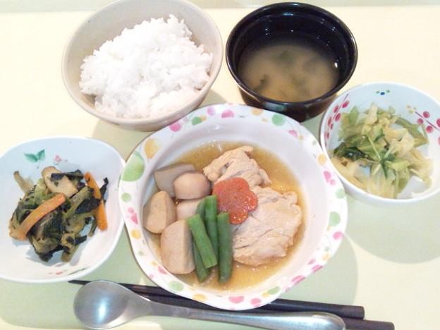 1月19日夕食(吉野煮) #病院食