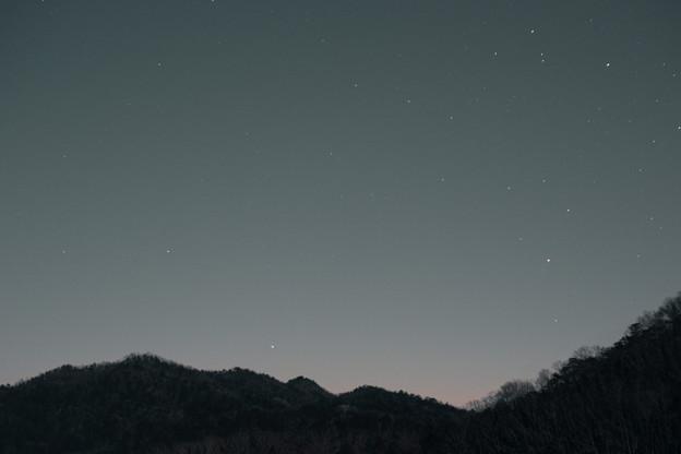 水星とアンタレス