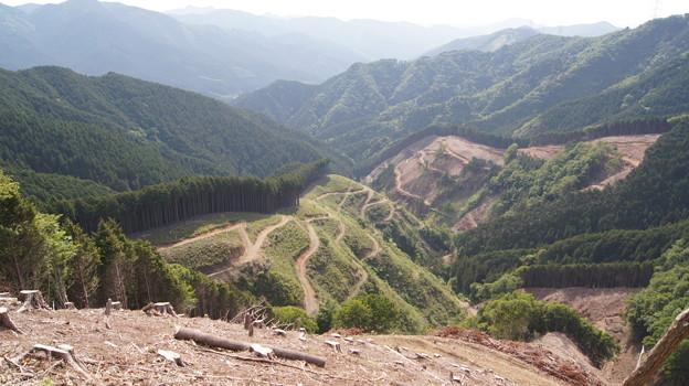 足尾の廃鉱山、日光華厳の滝や「山のレストラン」