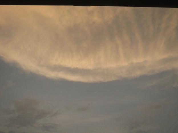 写真: 変な雲