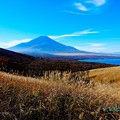 写真: 秋富士