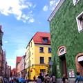 旧市街の街並みは美しく街歩きが楽しい
