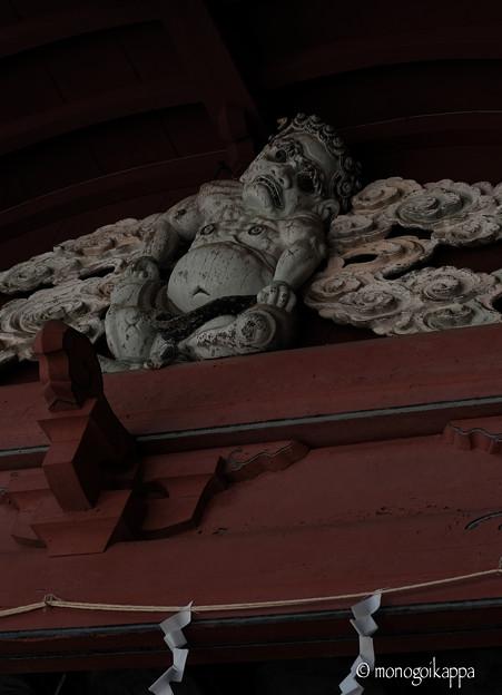榛名神社_神楽殿_鬼-4069