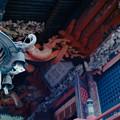 写真: 09榛名神社_本殿_灯篭-010012
