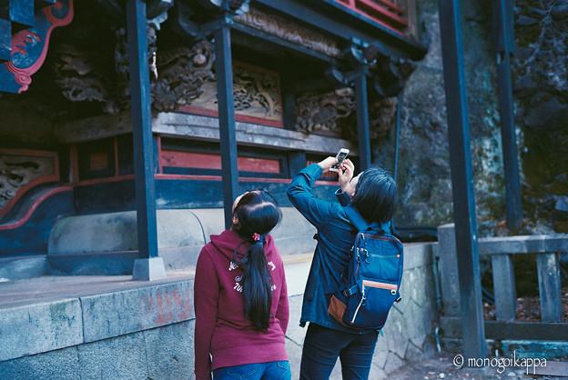 写真: 16榛名神社_見上げる-010014