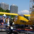 写真: Yellow airplane-4596