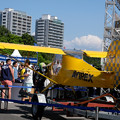 写真: Yellow airplane-4596