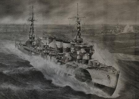 軽巡多摩-5449