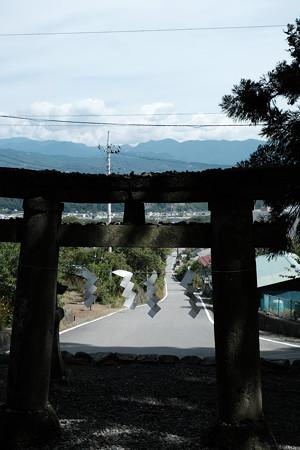 武田八幡宮02一の鳥居-6226