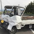 Photos: 事故
