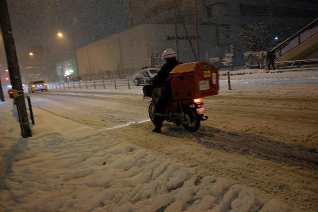 大雪_郵便配達-3965