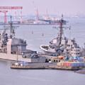 米海軍横須賀基地。。駆逐艦の港 20170325