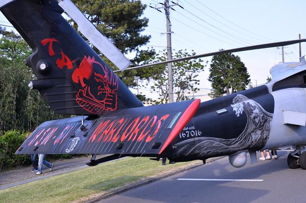 撮って出し。。色付き戦闘機ヘリコプターMH-60 4月29日