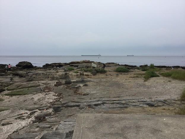 撮って出し。。ここ空母が通る浦賀水路 5月16日