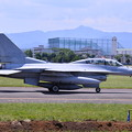 Photos: ある日の横田基地。。韓国空軍のF-16は二人乗り 20170603