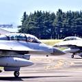 Photos: 横田基地ランウェイ18(^^)へ韓国空軍KF-16 20170603