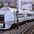 夕暮れの横須賀駅。。651系が来ていた。。(^^)20170610