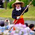 Photos: 素敵な若い船頭さん。。(^^)20170611