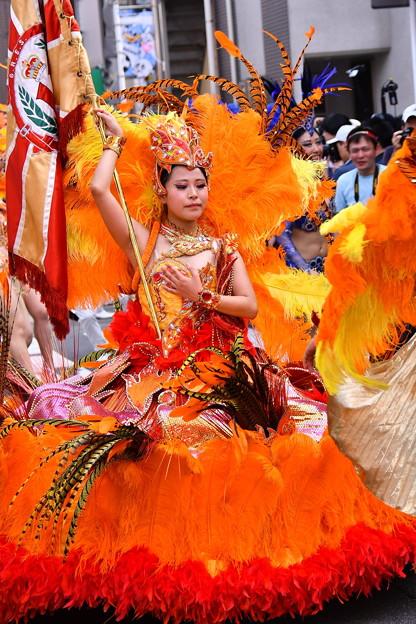 撮って出し。。サマーフェスタ 地元サンバパレード 女王 7月17日