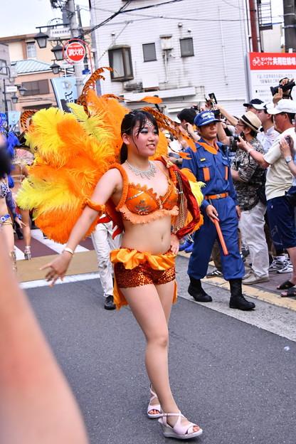 撮って出し。。間近で踊るサンバパレード7月17日