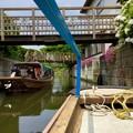 行き交う渡瀬舟。。十二橋めぐり 20170611