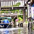 これは水郷の町。。佐原と潮来十二橋 渡瀬舟 20170611