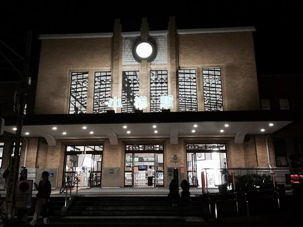 Photos: 撮って出し。。夜の小樽駅。。7月22日