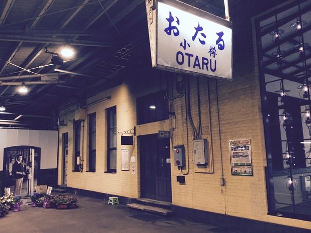 Photos: 撮って出し。。ここだけタイムスリップ 小樽駅ホーム 7月22日