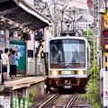 江ノ電 腰越駅に到着。。20170625