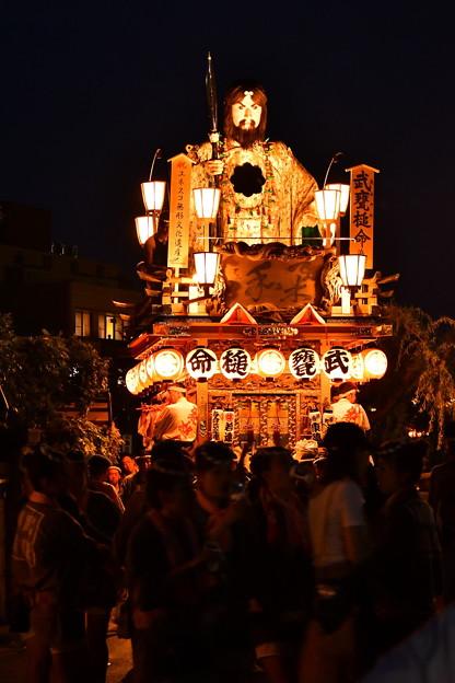 佐原の大祭夏祭り夜はさらに盛り上がる。。(^^)20170716