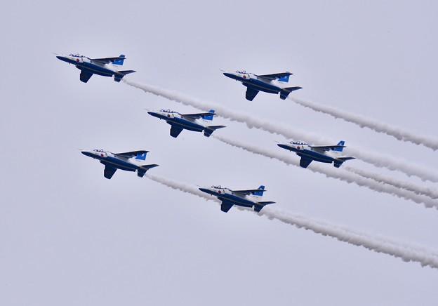 ブルーインパルス予行練習。。編隊飛行ポイントスター 20170722