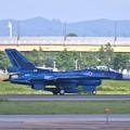 三沢基地の第3飛行隊F-2。。三沢へ向けてテイク・オフ